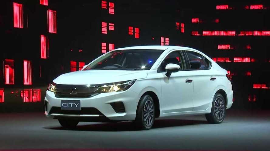 Novo Honda City estreia com motor 1.0 turbo que faz até 23,8 km/litro