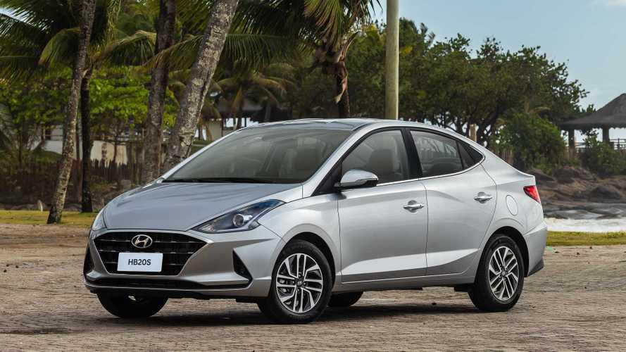 Hyundai HB20S 2020 - Prata