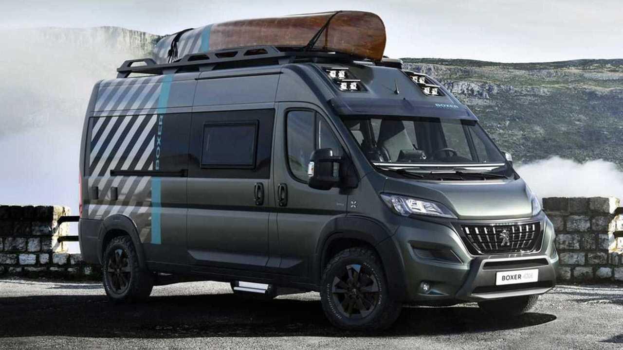 Peugeot Boxer 4x4 Concept camper