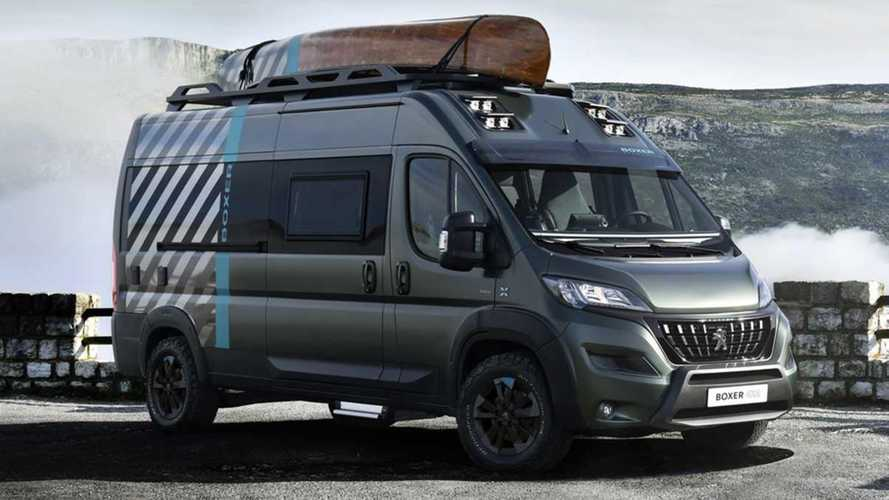 Peugeot Boxer 4X4 Concept debuts as colourful campervan