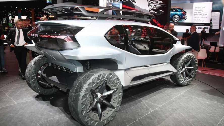 Audi AI:Trail Quattro Concept prevê off-road sem emissões