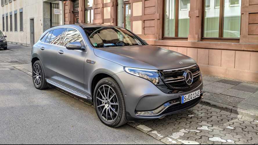 Mercedes-Benz EQC Test Drive