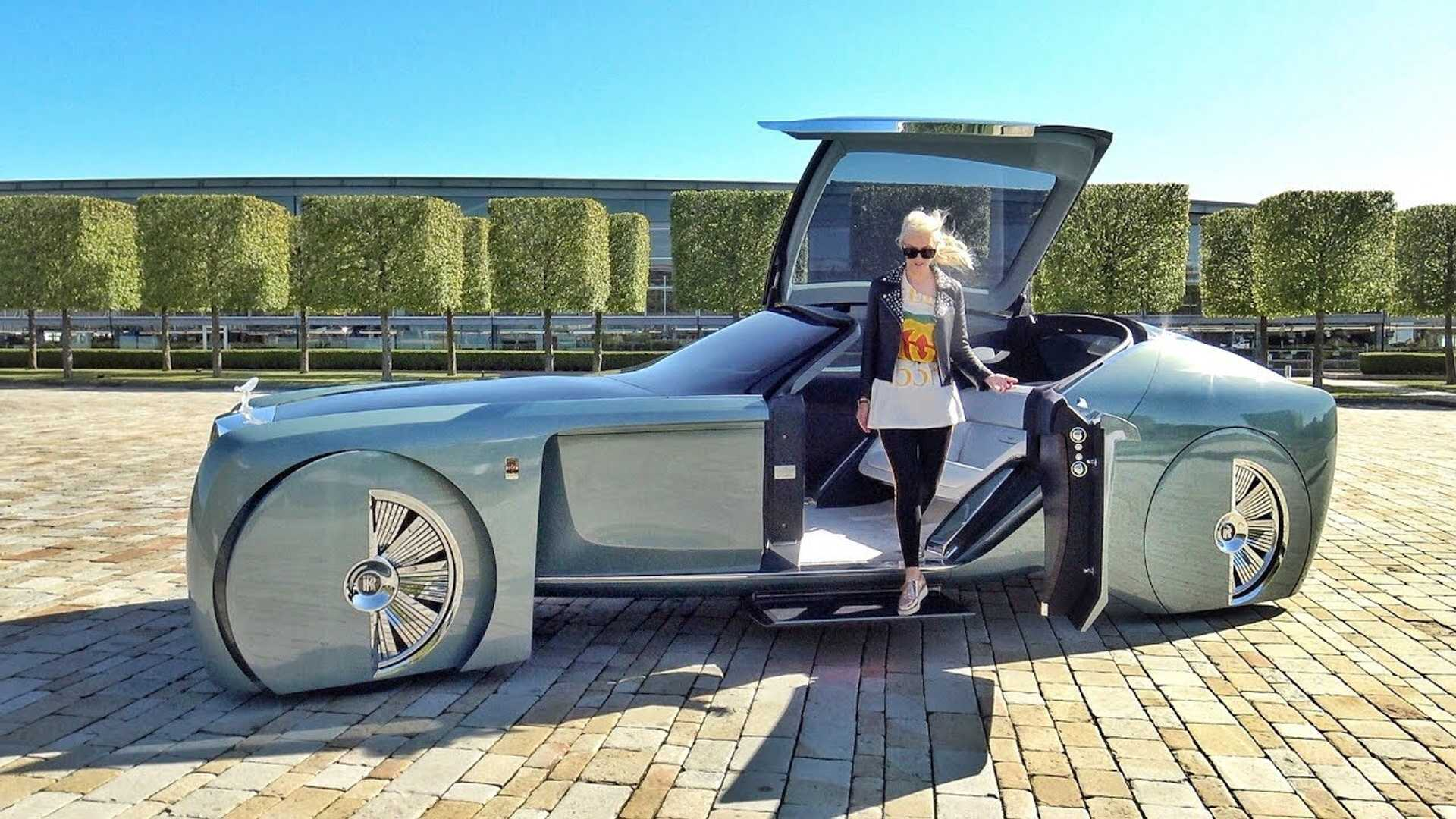 Rolls Royce 103ex Looks Otherworldly In Walkaround Video
