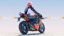 Spotted: Ducati Panigale V4 Superleggera