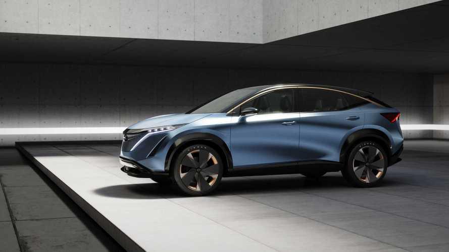 Nissan Ariya Concept: Elektro-SUV auf der CES 2020