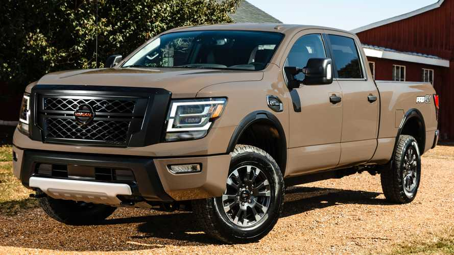 2020 Nissan Titan  Starts At $36,190, Titan XD For $44,580