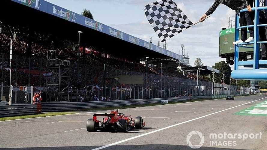 F1: Leclerc dá show e Ferrari rompe jejum no GP da Itália