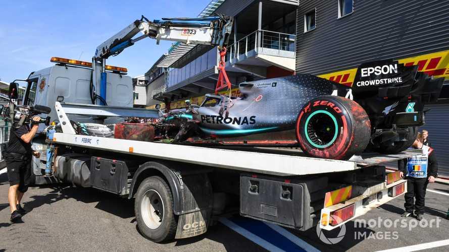 Ricciardo bothered by Spa crowd cheering in Hamilton crash