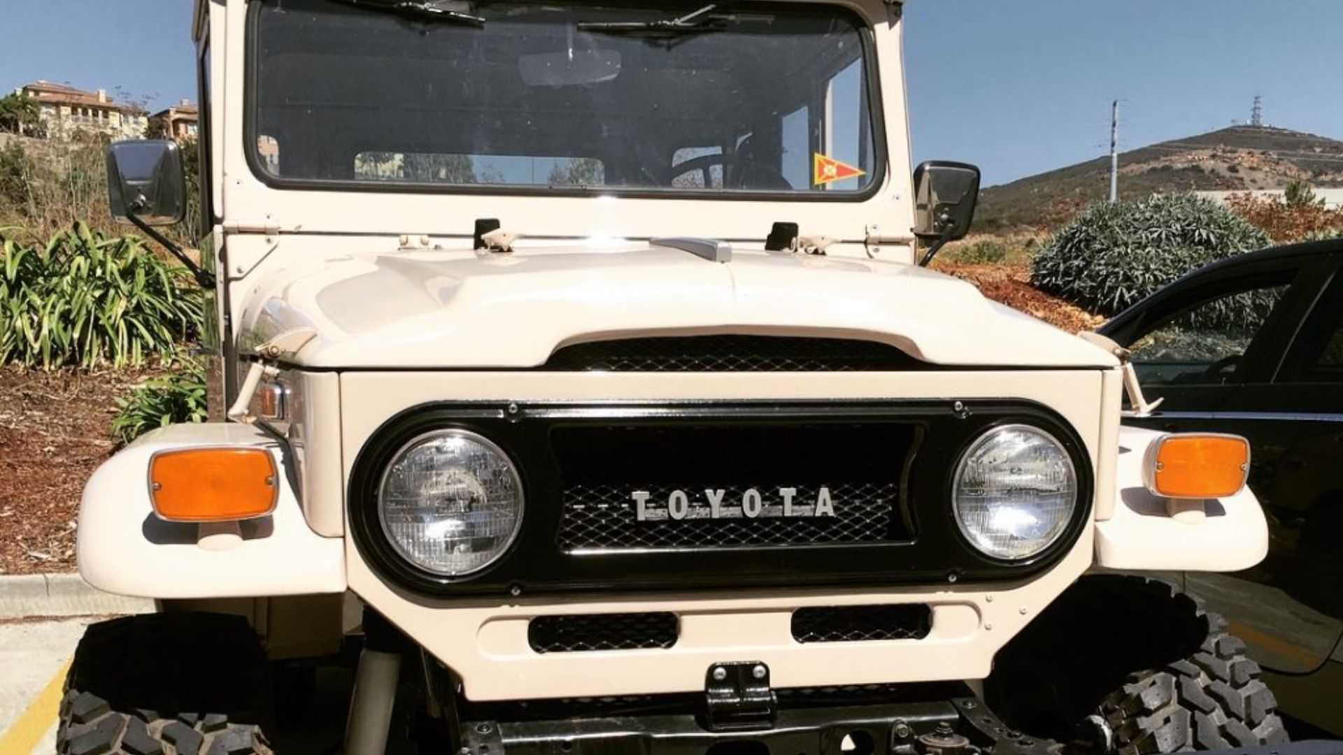 Check Out This All-Electric Motor-Swapped FJ40 Land Cruiser