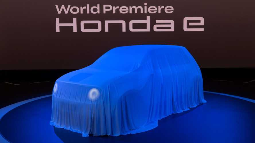 Honda e at the 2019 Frankfurt Motor Show