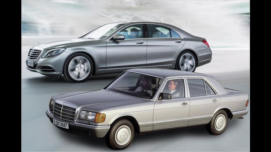 Die Geschichte der Mercedes S-Klasse