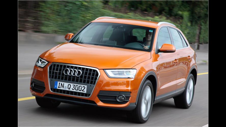 Audi Q3 ist Lieblingsauto der Deutschen