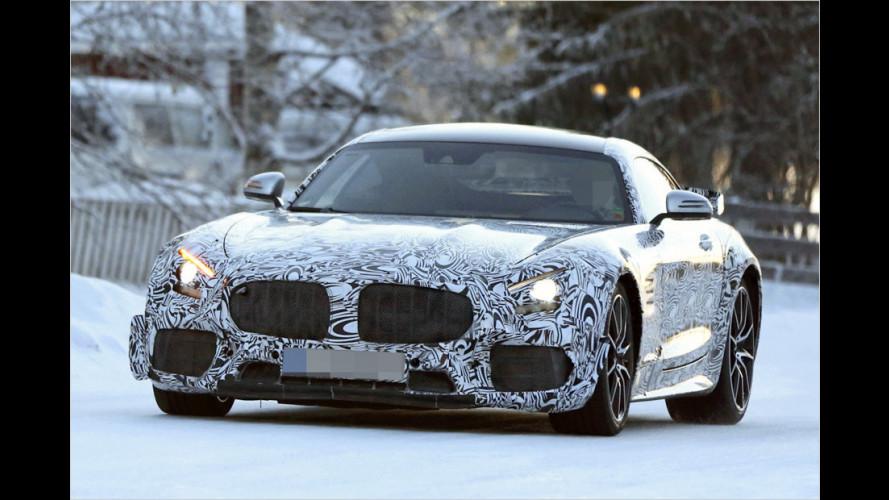 Erwischt: Mercedes-AMG GT-R als Erlkönig