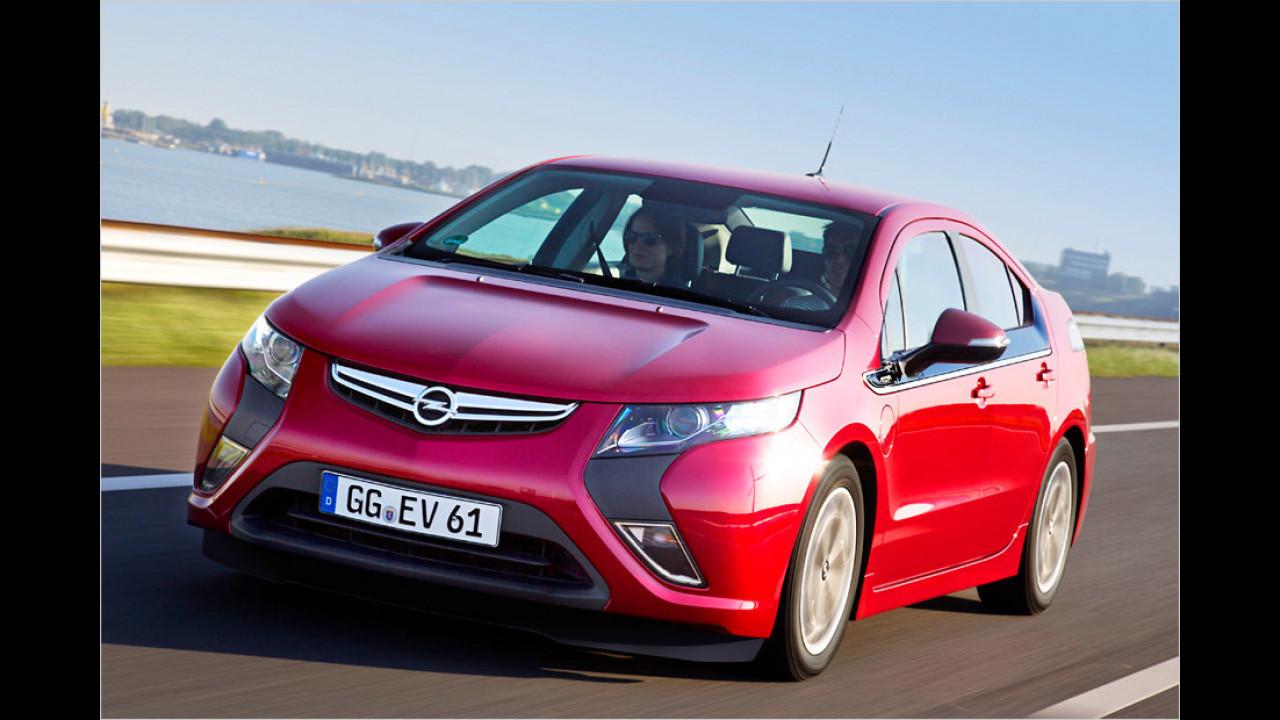 Umweltfreundlichster Motor 2012: 1,4-Liter-Range-Extender von GM