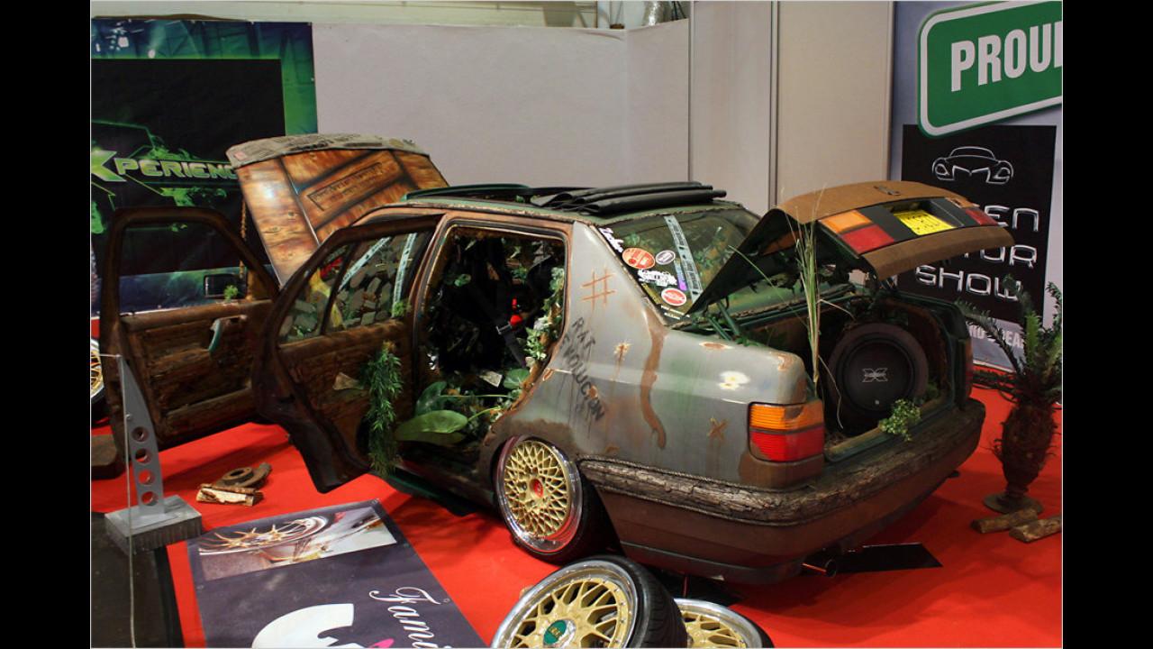 VW Vento als Schrottauto