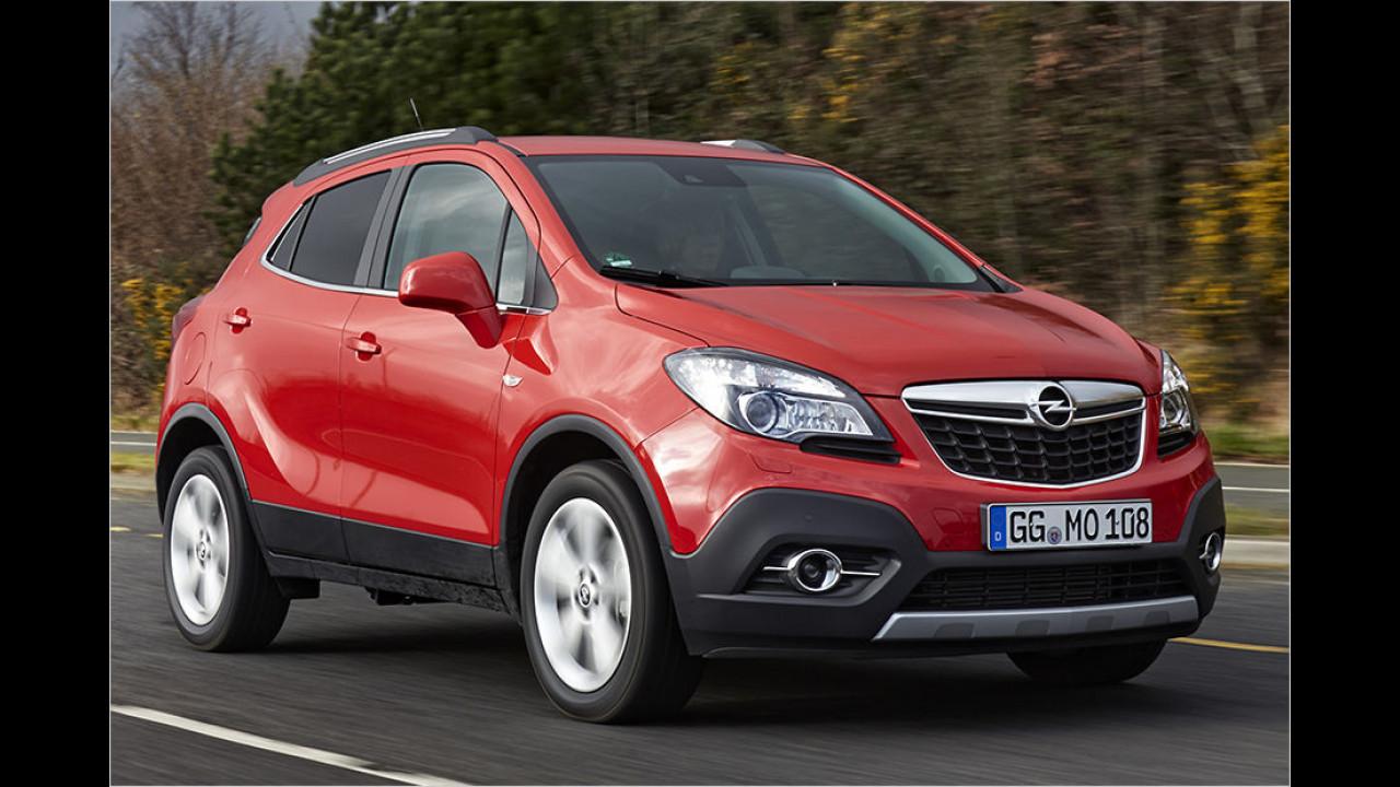 SUVs und Geländewagen, Platz 2: Opel Mokka (15.830 Stück)