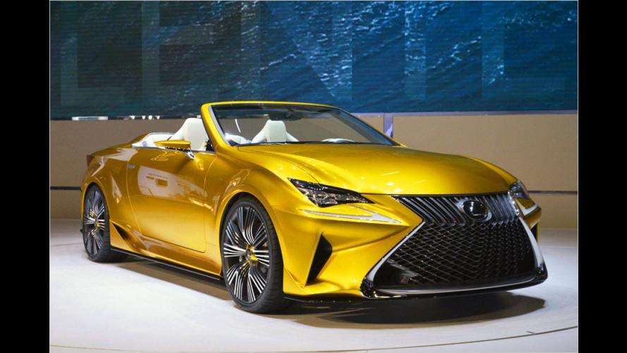Lexus LF-C2: Offener Ausblick