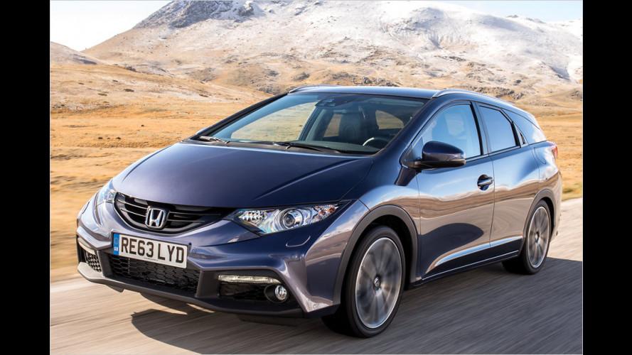 Honda Civic: Nachzügler mit Gepäck-Talent
