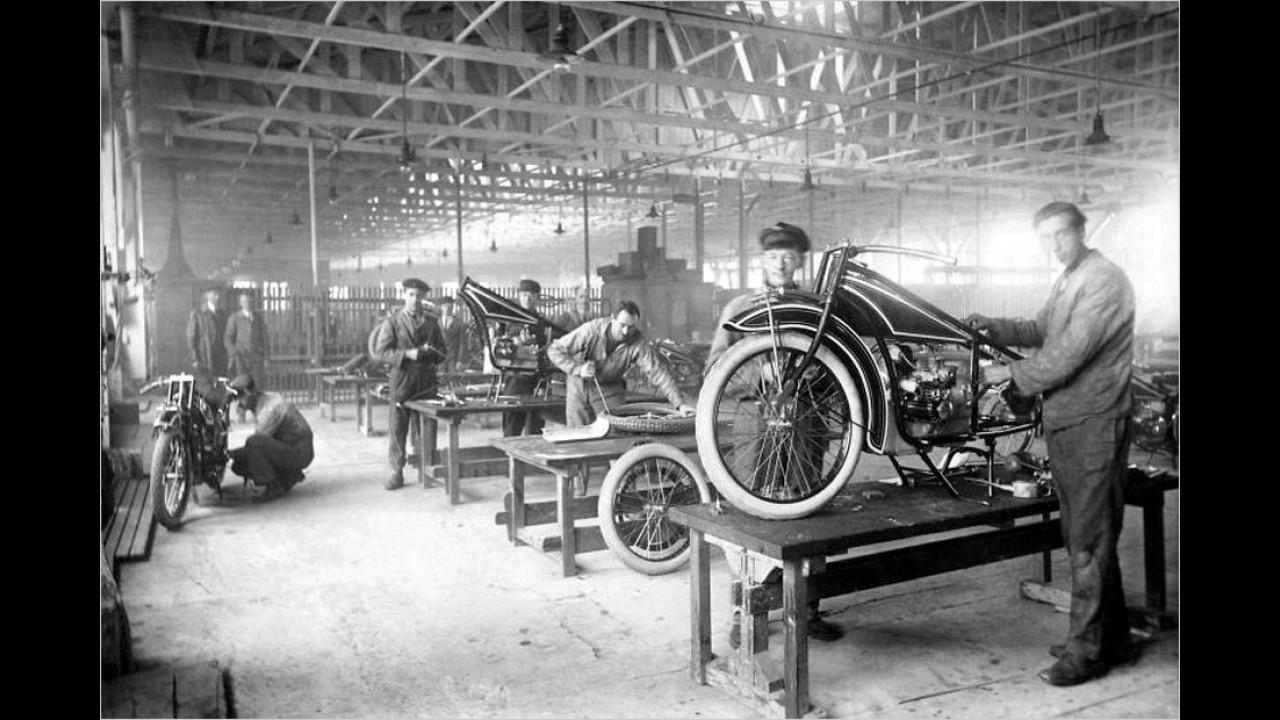 28. September 1923: Das erste BMW-Motorrad