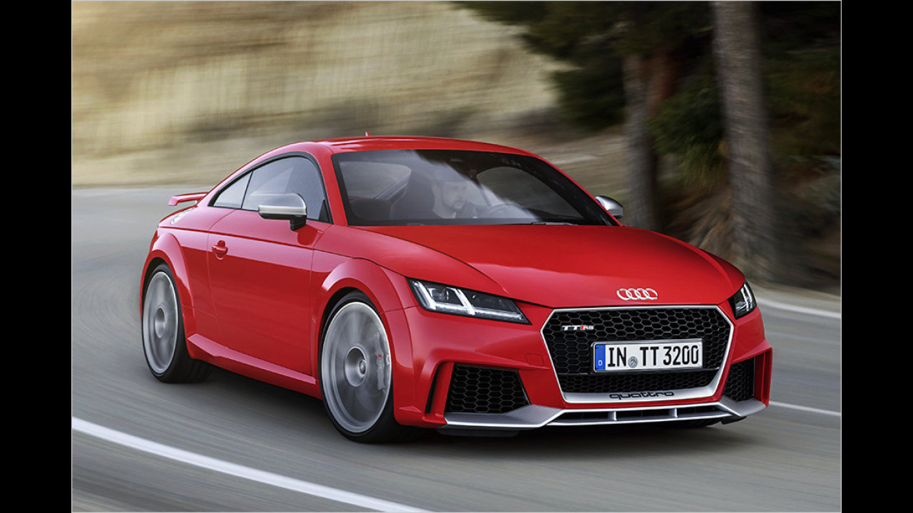 2016: Audi TT RS
