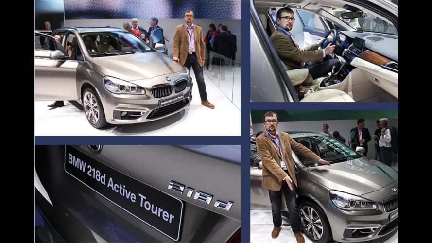 Genf 2014: Sitzprobe im BMW-Van