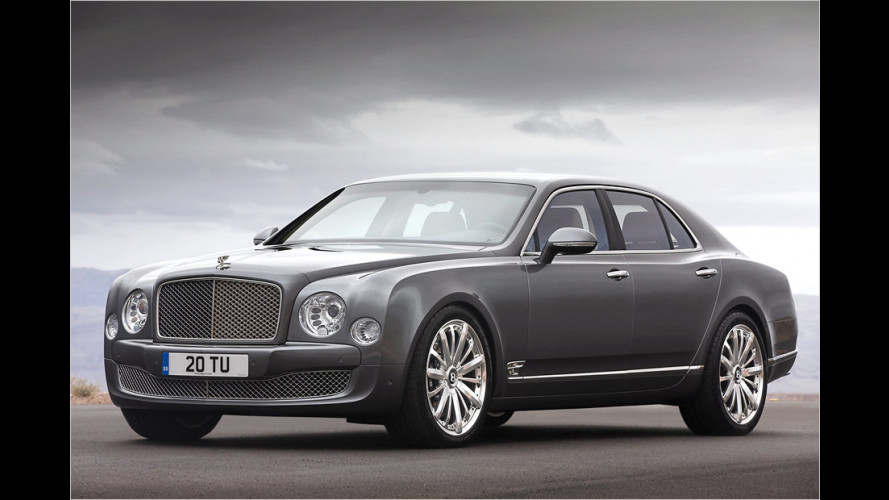 Mulliner Driving Specification für den Bentley Mulsanne