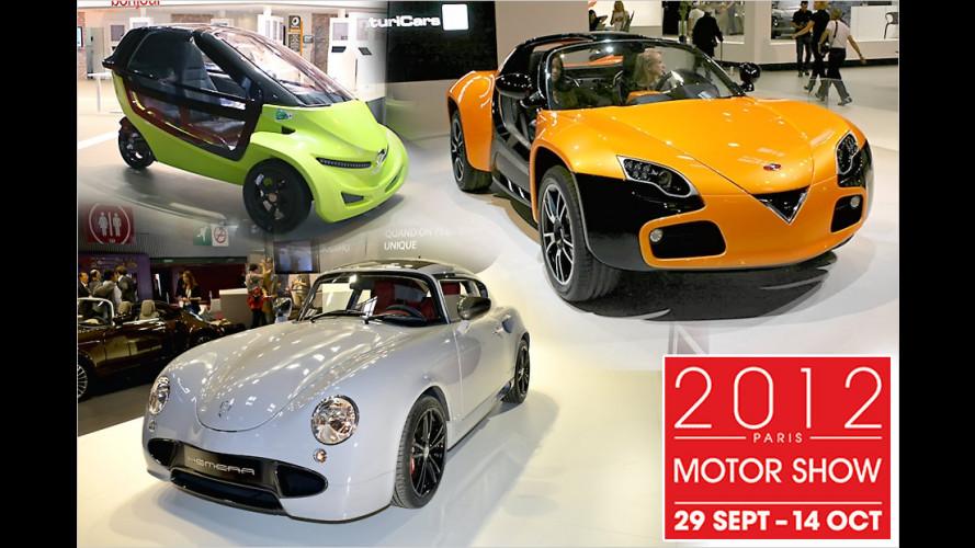 Pariser Autosalon 2012: Die Exoten