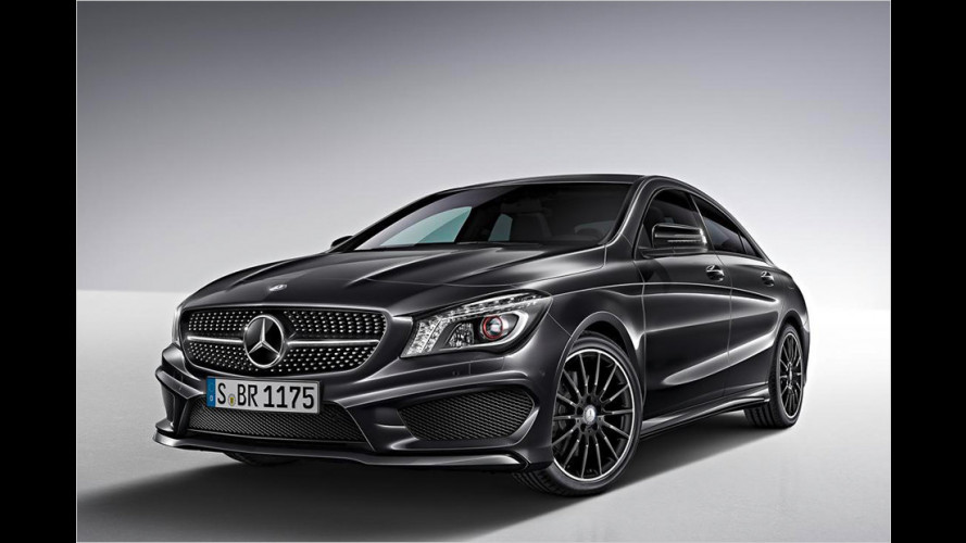 Mercedes CLA: Edition 1 zum Start