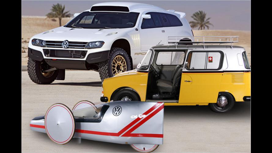 Volkswagen: Coole Raritäten aus Wolfsburg