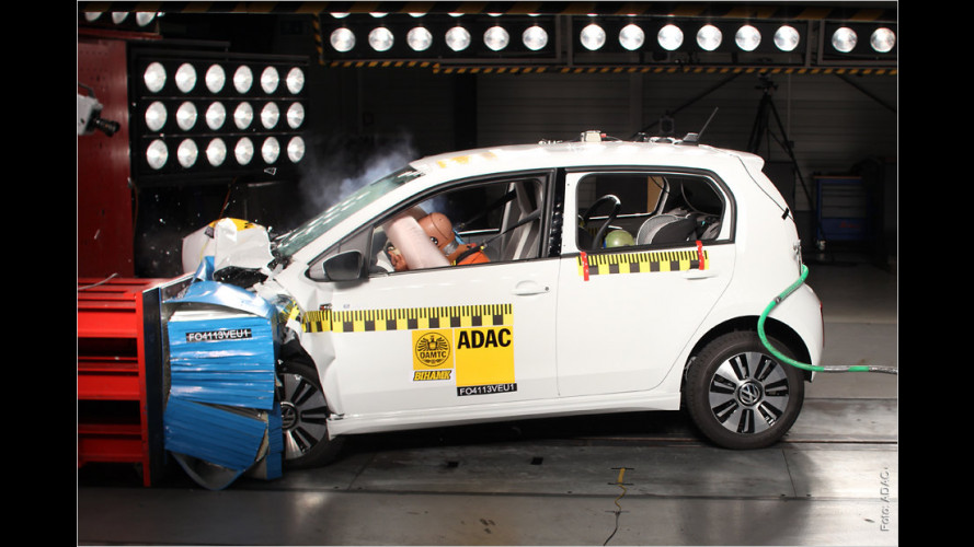 VW e-Up im ADAC-Crashtest (2013)