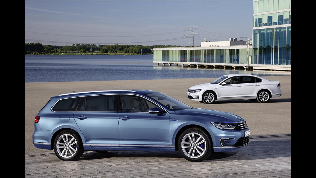 VW Passat GTE und Passat Variant GTE