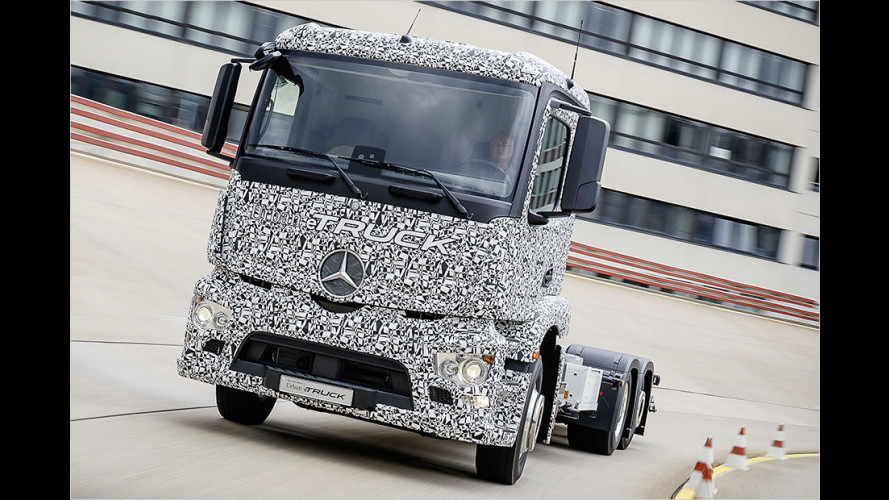 Mercedes zeigt Urban eTruck