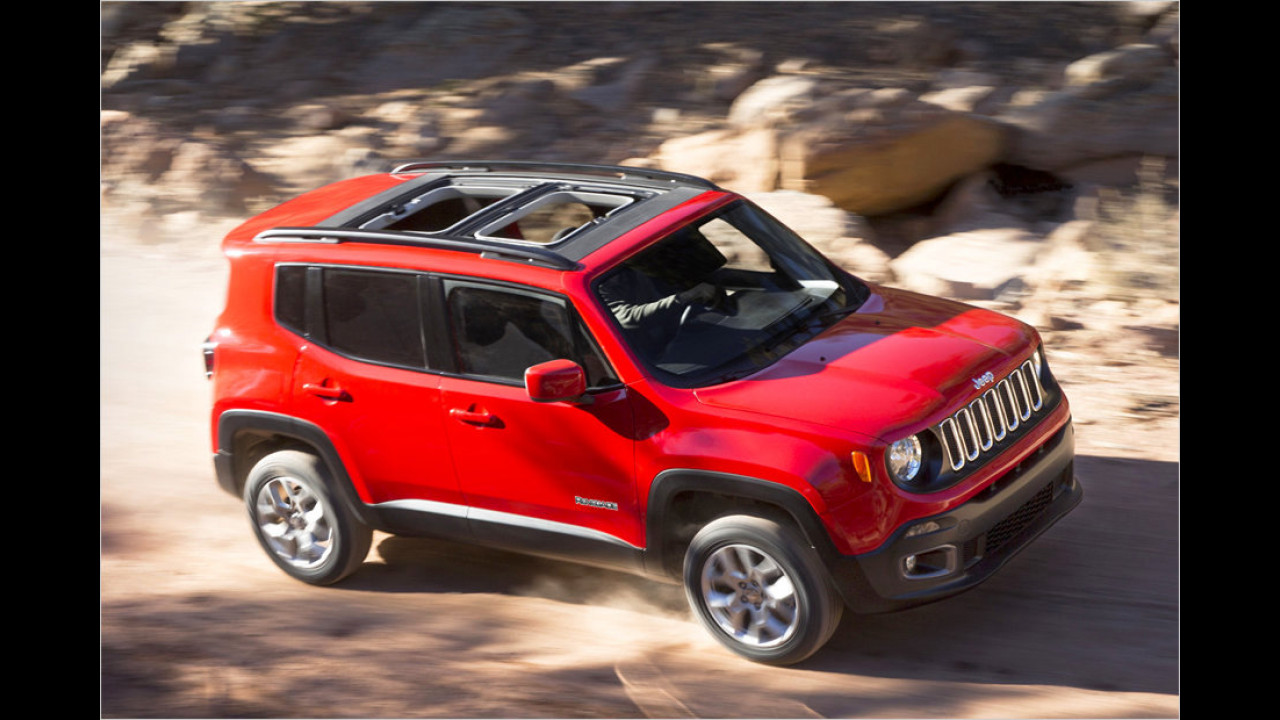 Jeep Renegade: seit 2014