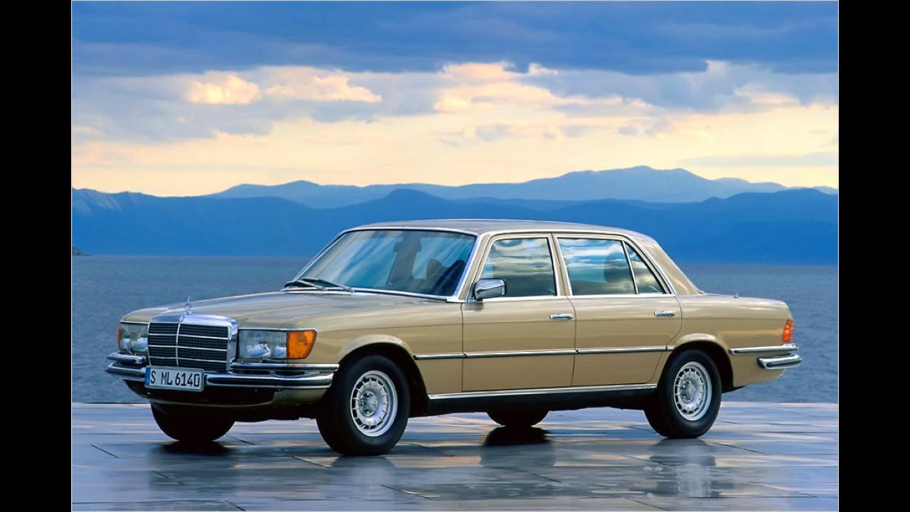 Platz 11: Mercedes W 116, 3.494 Fahrzeuge mit H-Kennzeichen