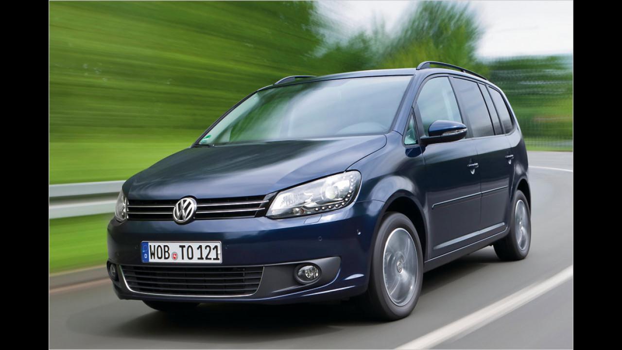 Die besten Siebensitzer, Platz 3: VW Touran 1.4 TSI EcoFuel DSG, 5,73 Punkte