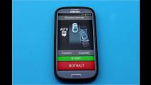 Auto parken per App