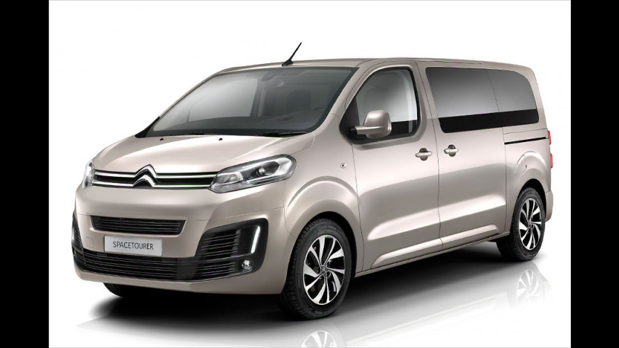 Citroën SpaceTourer auf dem Genfer Salon 2016