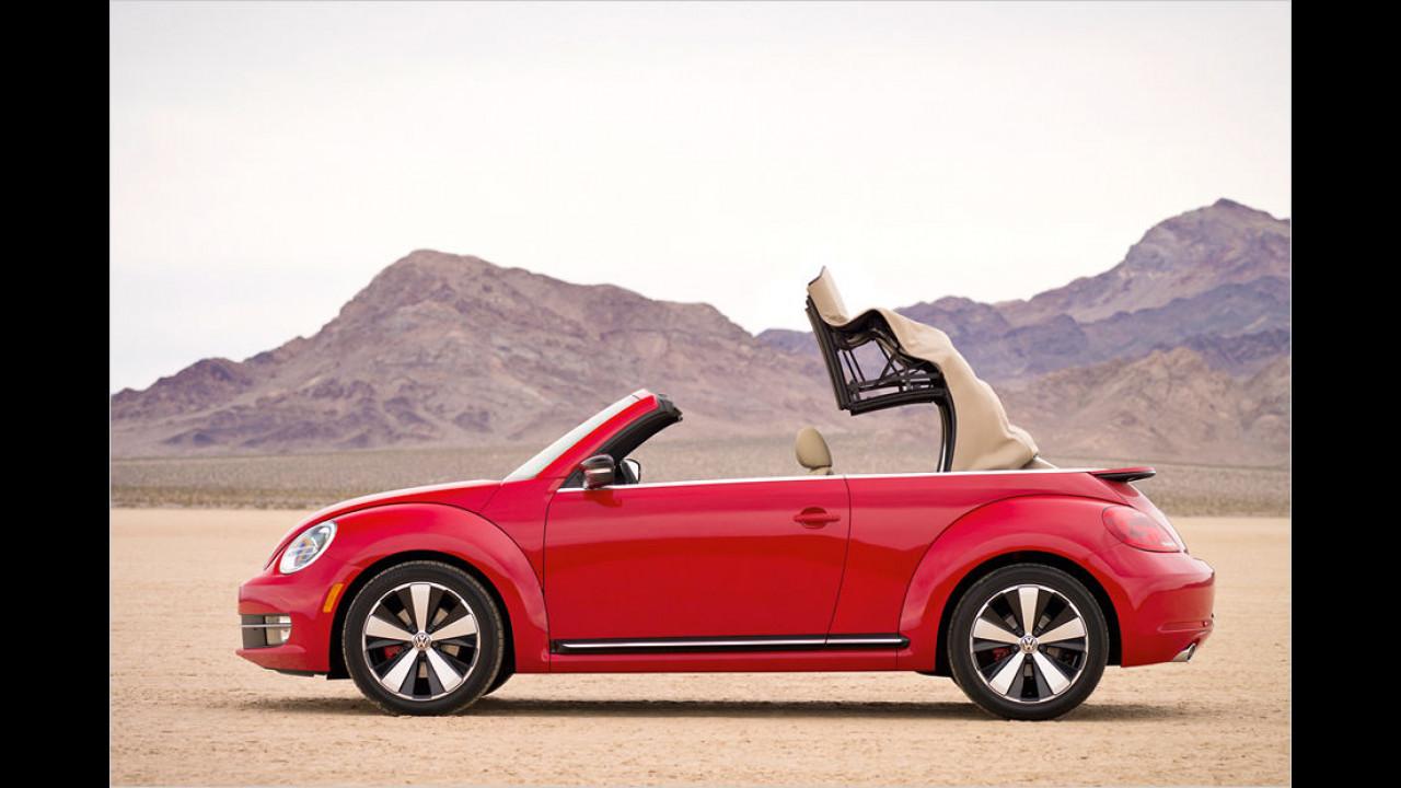 VW New Beetle (9,5 Sekunden, bis 50 km/h)