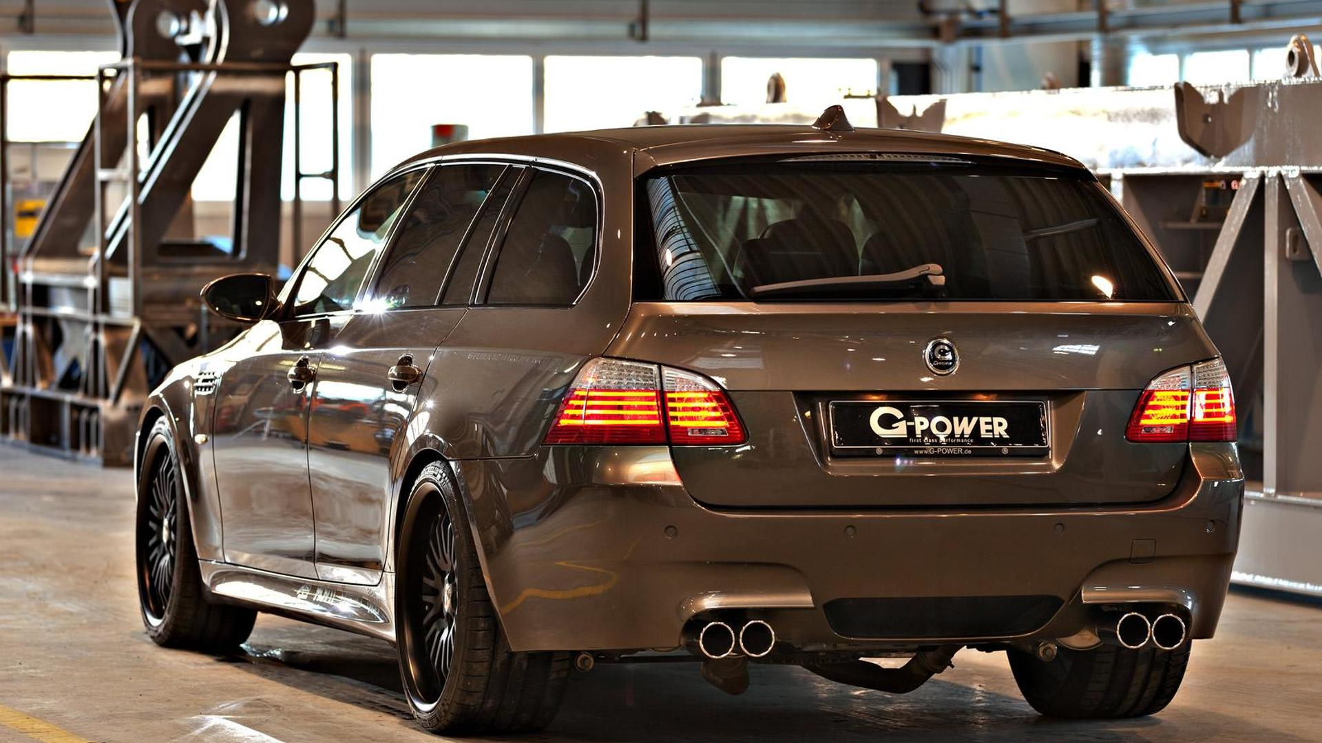 G Power Unleashes 820 Hp Bmw M5 Hurricane Rr Touring