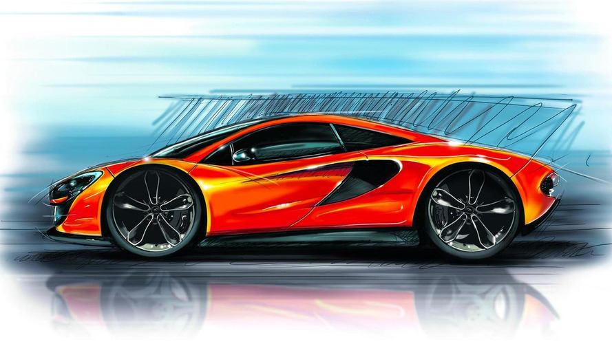McLaren P13 confirmed with 444 bhp twin-turbo 3.8-liter, speculatively rendered with high credibilit