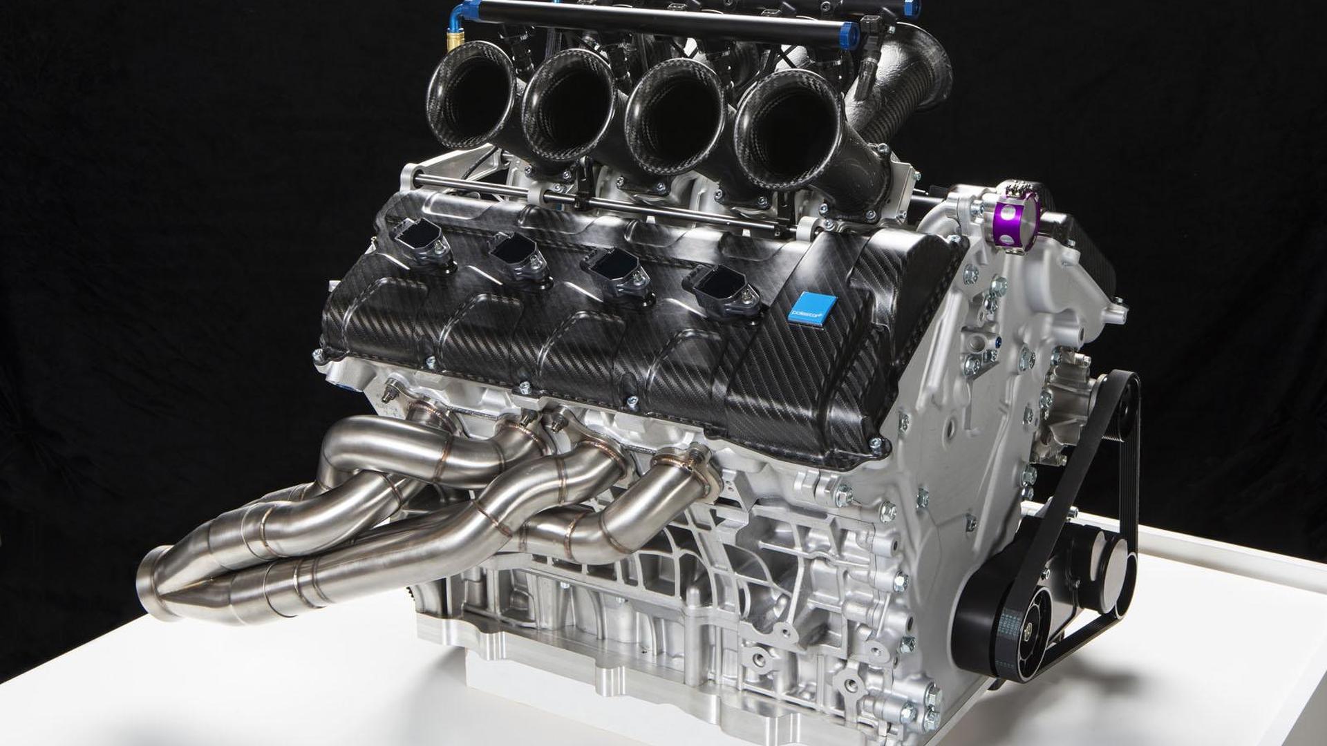 Volvo supercar engine