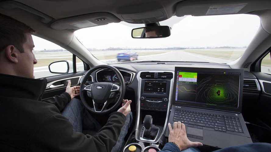 Ford unveils their Fusion Hybrid Automated Research Vehicle [video]