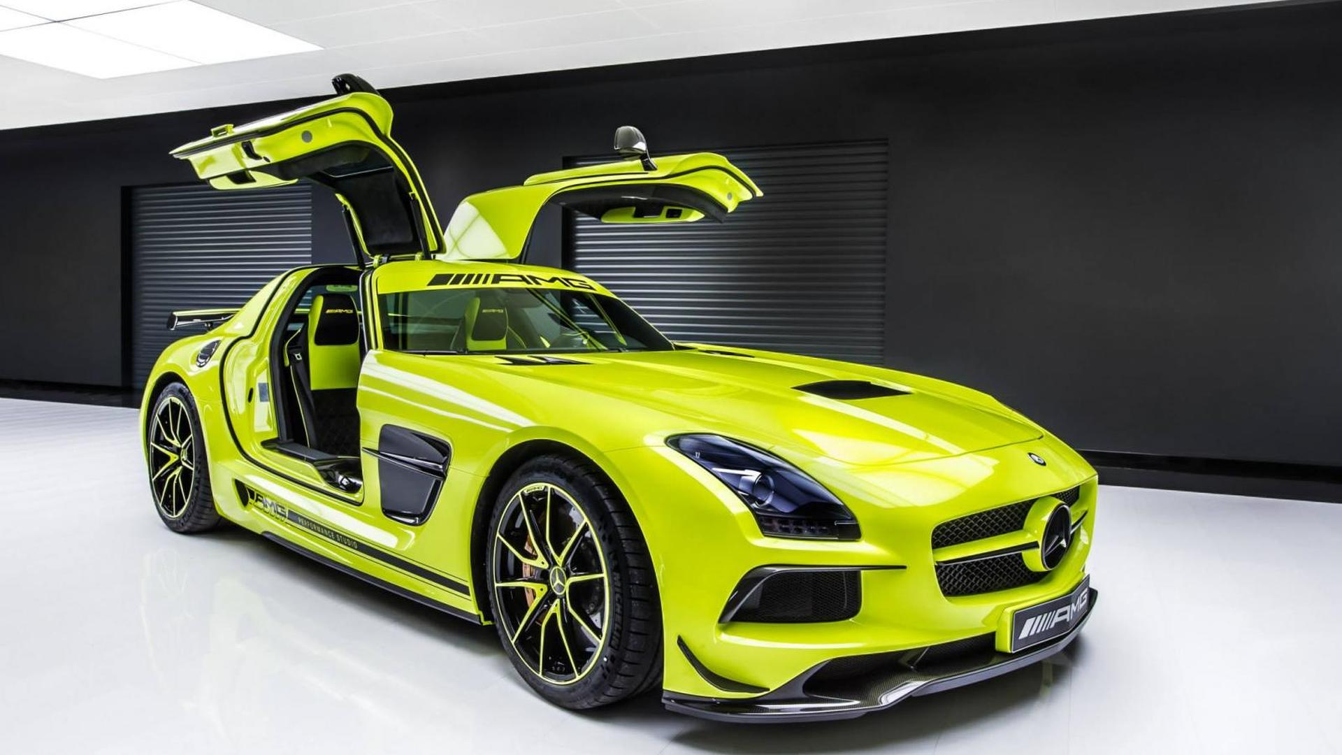 Sls Black Series >> Mercedes Sls Amg Black Series Gets The Bespoke Treatment By