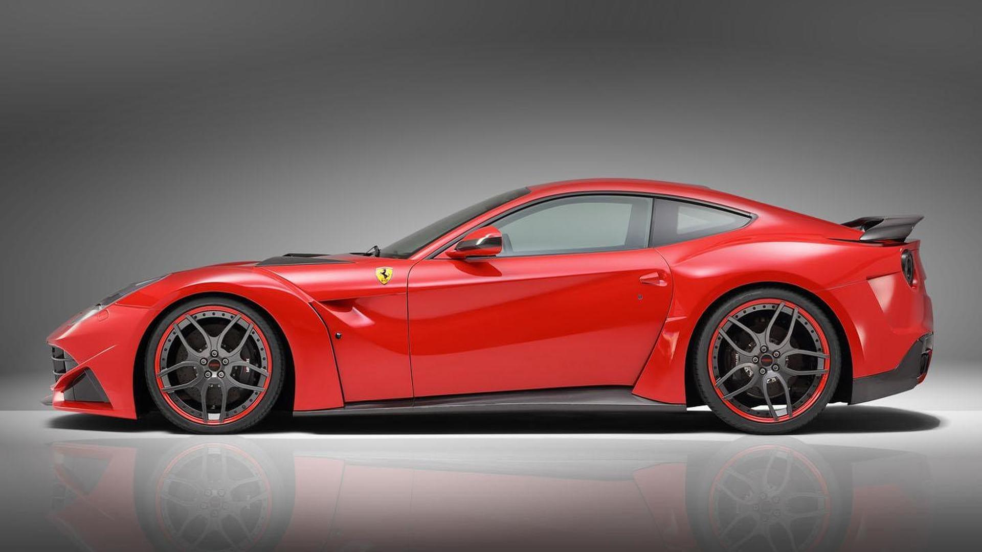 Novitec Rosso F12 N Largo Revealed