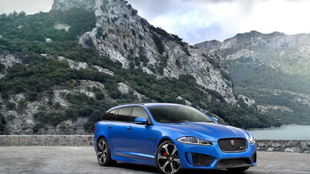 jaguar xfr s sportbrake hướng đến geneva với 542 mã lực