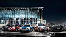 BMW RETTmobil lineup