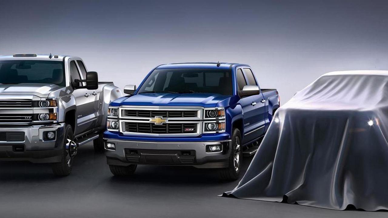 2015 Chevrolet Colorado teaser image