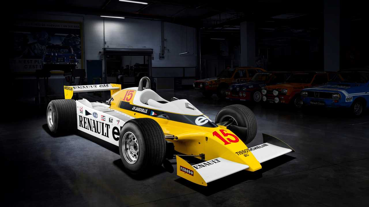 Renault F1 RS 10 - 1979
