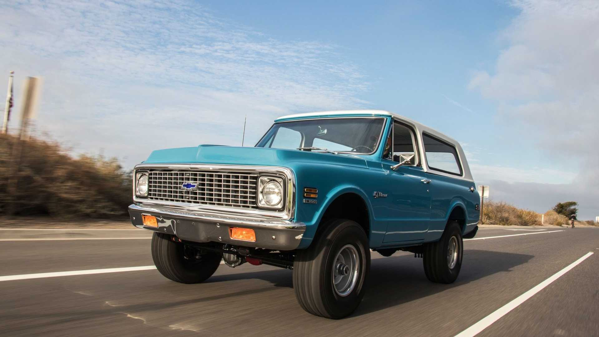 Ride Out In This Restored 1971 Chevy K5 Blazer | Motorious
