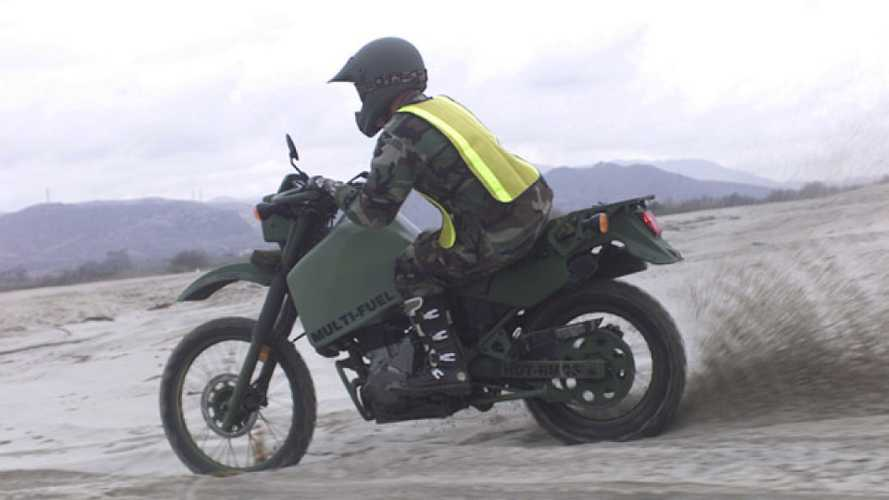 Cycleweird: The Diesel Kawasaki KLR 650